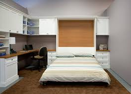 Desk Wall Bed Combo California Closets San Diego Ca United States Combination