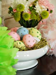Easter Decorations Front Door by 35 Ways To Decorate For Easter Hgtv