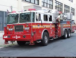 North Bay Fire Prevention by Gladstone Fire Department Mo Aerial Apparatus In An Usual Color