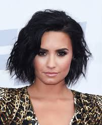 bob cut hairstyle pictures demi lovato u0027s changing hair billboard