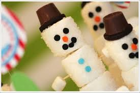 marshmallow christmas craft xmasblor
