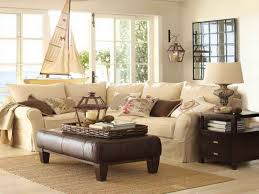 home decor pottery decorating comfortable sofa and coffee table for pottery barn