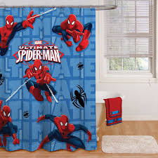 Disney Shower Curtains by Amazon Com Marvel Spiderman Shower Curtain 72