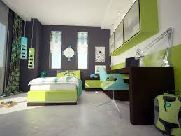 Single Bed Designs For Teenagers Boys Bedroom Astounding Teenage Black And Lime Bedroom Decoration