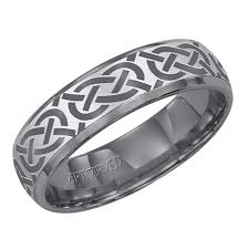 carved bridal artcarved grecian mens carved wedding band in tungsten carbide 6mm