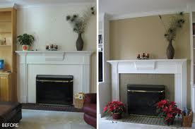 painting fireplaces home decor ryanmathates us
