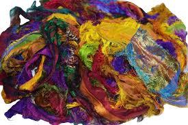 sari silk ribbon recycled sari silk ribbon yarn jl yarn