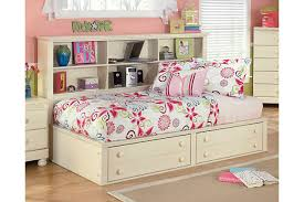 Beds With Bookshelves Cottage Retreat Twin Bookcase Bed Ashley Furniture Homestore