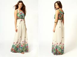 what is a maxi dress flower power 10 floral dresses for your bridesmaids