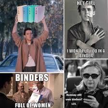 Binder Meme - binders full of women meme popsugar love sex
