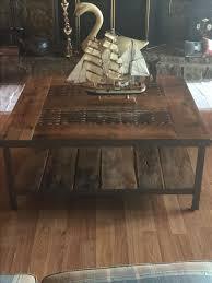 custom reclaimed wood coffee tables by cross custom builders