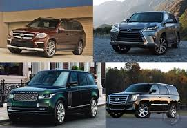 mercedes size suv car wars which size luxury suv takes the cake lexus lx570