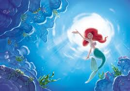 ariel mermaid disney wall mural 4645