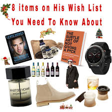 his and items 8 items on his wish list you need to about myroadtea