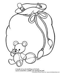 the night before christmas coloring pages happy christmas to all