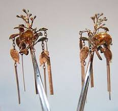 kanzashi hair ornaments kanzashi japanese traditional hair ornament 1888