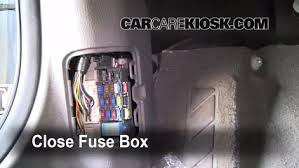 interior fuse box location 2003 2008 mazda 6 2006 mazda 6 i 2 3