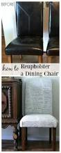 Recovering Dining Chairs Diy Re Upholster Your Parsons Dining Chairs Tips From A Pro