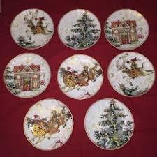 williams sonoma 12 days ofchristmas dinner plates s 6 ebay