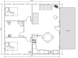 30x50 House Design by Floor Plan 30 X 50 House Floor Plans Ranch Style House Plans With