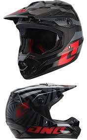 one helmets motocross kids youth one industries atom mx motocross helmet twisted red