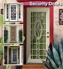 Residential Security Doors Exterior Incomparable Residential Security Door Residential Security Doors