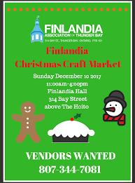finlandia christmas craft sale
