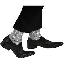 buy michael jackson sparkle stirrup socks child