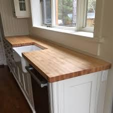 dessus de comptoir de cuisine pas cher table comptoir bloc de boucher et ilôt en bois massif