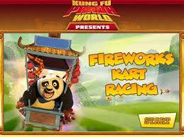 Friv Kung Fu Panda Fireworks Kart Racing