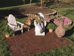 Brick Patio Pavers by Circular Reused Brick Patio Video Diy