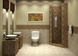 mosaic tiles bathroom ideas decoration ideas endearing one toilet with wall mounted