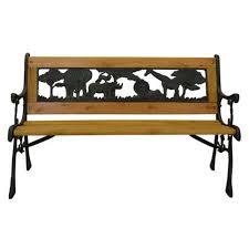 57 most outstanding park benches for sale cast iron and wood bench
