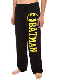 dc comics batman guys pajama topic