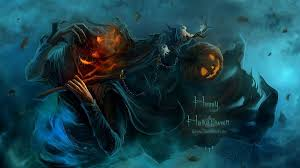 moving halloween wallpapers horrifying wallpapers group 40