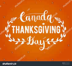 canada thanksgiving day greeting card happy stock vector 718752496