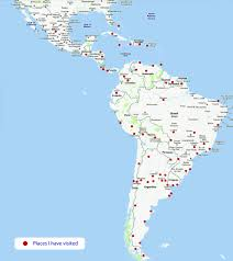 Map De Central America by Latin America Map Countries Roundtripticket Me