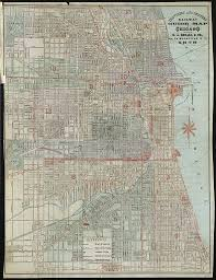 Chicago Street Map by File 1878 Travelers And Shippers Railway Guide Map Of Chicago Jpg