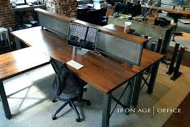 Rustic Office Desk Industrial Office Desk Rustic Office Furniture Trend Office Desk