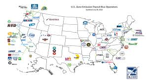 Chicago Transit Authority Map by Zero Emissions Bus Operators Us Department Of Transportation