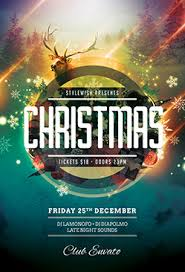 christmas party flyer templates ı download psd layout