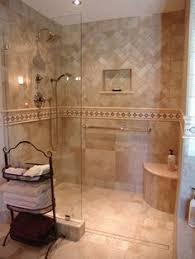 shower idea half wall no door u2026 pinteres u2026