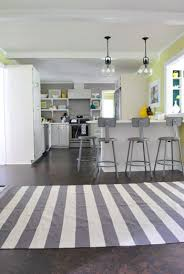 Black And White Striped Kitchen Rug And Now For A Kitchen Rug Fashion Show House