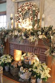 holiday fireplace decorating ideas christmas top mantel photos