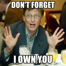 Meme Generator Own Image - don t forget i own you bill gates gestures meme generator