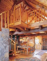 log home interior pictures log cabin and log home pros and cons