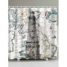 Shower Curtain Nautical Nautical Shower Curtains Cheap Casual Style Online Free Shipping