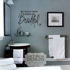 Bathroom Quotes For Walls Best 25 Bathroom Decals Ideas On Pinterest Bathroom Wall Decals