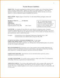 list of resume skills for teachers resumes objectives for teachers list of sle resume objective