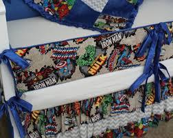 Marvel Baby Bedding Marvel Crib Bedding Etsy